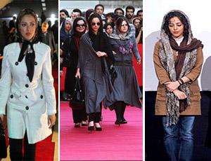 عکس بازیگران ایرانی در فرش قرمز